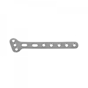3.5mm Small T-Plate Right Angled with 4 Head Holes