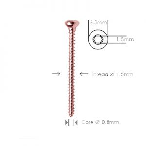 Cortex Screw Ø 1.5mm