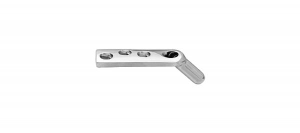Dynamic Hip Screw Plate with Self Compression Holes - Standard Barrel- (DHS)