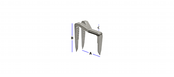 Staple with Offset